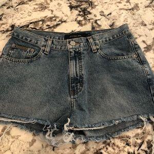 Calvin Klein original jean shorts!!